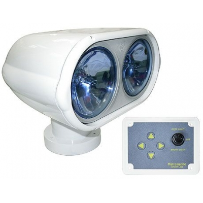 Дист. управляемый прожектор Night eye Duble, 12 V NEW