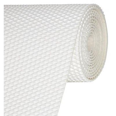 Нескользящее палубное покрытие «Mapla Socoslip», белое, рисунок - ромб