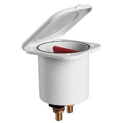 Выключатель массы в коробе, белый корпус