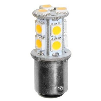 Лампа светодиодная с цоколем BA15D, 12/24В, 2 Вт, 16х41 мм