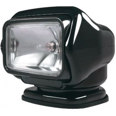 """Прожектор стационарный с двойным радиоуправлением """"Stryker"""" в черном корпусе"""