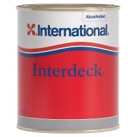 Палубная краска «INTERDECK», 750 мл, белая.
