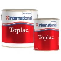 Силикон-алкидная эмаль «TOPLAC» теплый белый (001), 2,5 л.