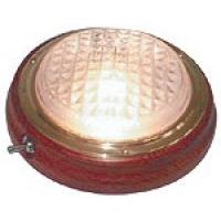 Накладной плафон освещения в корпусе из полированного тика.