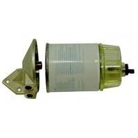 Топливный фильтр с кронштейном и отстойником, дизельное топливо.