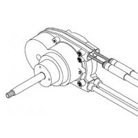 Рулевой редуктор NFB 4.2 Dual под 2 троса