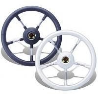 """Рулевое колесо """"Como"""", серый обод. Диаметр 360 мм."""