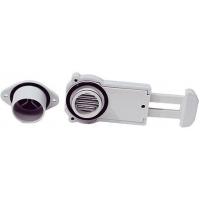 Шпигат с клапаном в сборе, 34/40 мм, серый