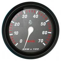 Тахометр для подвесных моторов, 7000 об/мин, серия Professional red