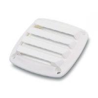 Вентиляционная решетка, белый пластик, 86mm(L) x 86mm(W) x 15mm(H)