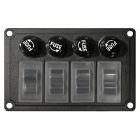 Панель 4 клавиши, силиконовые колпачки, 4 предохранителя