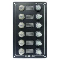 Панель выключателей, 6 тумблеров
