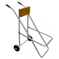 Кронштейн-подставка для подвесного мотора 20-25 л.с. с колесами