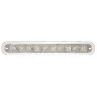 Светильник светодиодный прямоугольный, IP66, 12/24 В, 176x24,7x14,3 мм