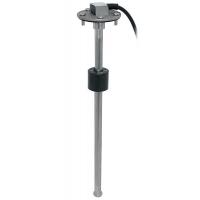 Датчик уровня воды или топлива, 10-190 Ом, фланец SAE 5 отверстий, 200 мм