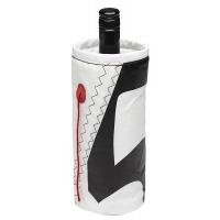 Чехол для бутылок «Wine Cooler», белый-синий