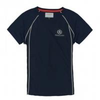 Футболка мужская «Fast-Dri Silver Mono» с коротким рукавом, цвет темно-синий, размер S