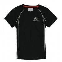 Футболка мужская «Fast-Dri Silver Mono» с коротким рукавом, цвет черный, размер S