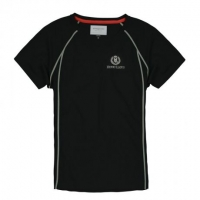 Футболка мужская «Fast-Dri Silver Mono» с коротким рукавом, цвет черный, размер L
