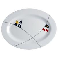 Овальные тарелки «Regata», 2 шт