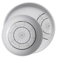 Плоские тарелки «Polaris», 25+30,5 см