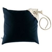 Подушка 40х40 см, темно-синяя