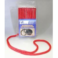 Плетеный швартовный конец, 9,5 мм x 4,5 м, красный