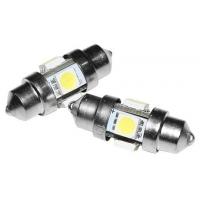 Лампа пальчиковая светодиодная, 12 В, 0,8 Вт, 31 мм