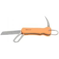 Яхтенный нож, оранжевая рукоятка