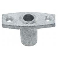 Подуключина оцинкованная врезная, 13 мм