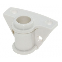 Подуключина пластиковая, накладная, 18 мм, белая