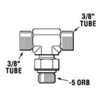Тройник рулевой машинки HF6005, 360 градусов
