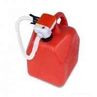 Электрический насос для перекачки топлива с авт. выкл., крепл. на горловину, 9 л/мин