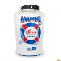 """Гермомешок  """"Marine"""", 5 л (белый)"""