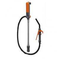 Электрический насос для перекачки топлива с заправочным пистолетом, 9 л/мин