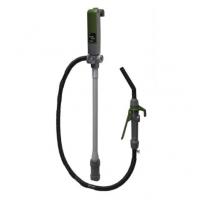 Электрический насос для перекачки топлива с заправочным пистолетом, 12 л/мин