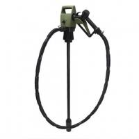 Электрический насос для перекачки топлива с заправочным пистолетом, 19 л/мин + адаптер для бочки