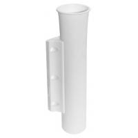 Держатель удилища накладной, белый пластик