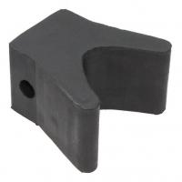 Носовой упор, 62х87х50 мм, черный
