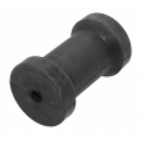 Ролик килевой для трейлера, 133 мм, черный