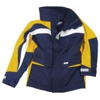 Куртка «Skagen», желтый + темно-синий и белый, размер L