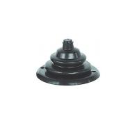 Уплотнительная гофра, черная 100х70 мм