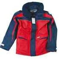 Куртка «Skagen», красный + темно-синий, размер L