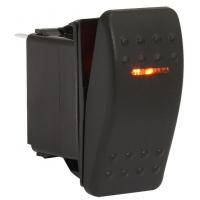 Клавишный выключатель, 1 светодиод, двухпозиционный
