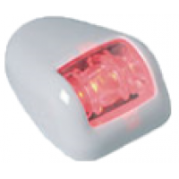 Бортовой огонь LED, красный, в хромированном корпусе