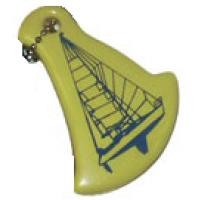 """Брелок плавающий """"Яхта"""", желтый"""