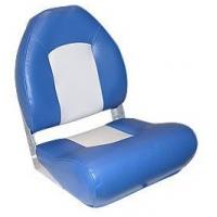 Сиденье с боковой поддержкой, серое с синим