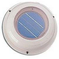 Вентилятор на солнечный батареях, пластиковый корпус