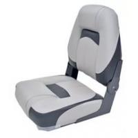 Сиденье Premium Hi-back Qualifier Seat, серое с темно-серым