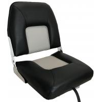 Сиденье модель MI-S40 чёрное с серым